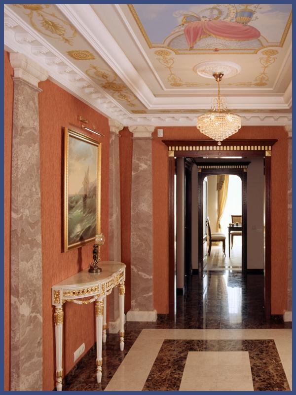 Холл декор москва